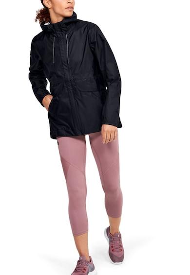 Under Armour Jacheta impermeabila, din material respirabil, cu gluga, pentru fitness Cloudburst Shell Femei
