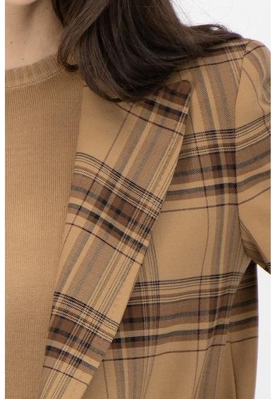 Marella Sacou din amestec de lana, in carouri Femei