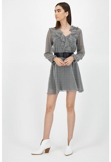 Marella Rochie mini cu model houndstooth Femei