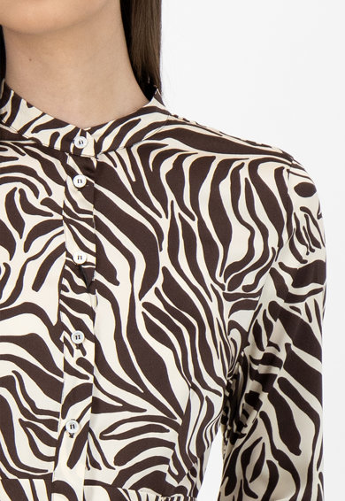 Marella Rochie tip camasa cu animal print Femei