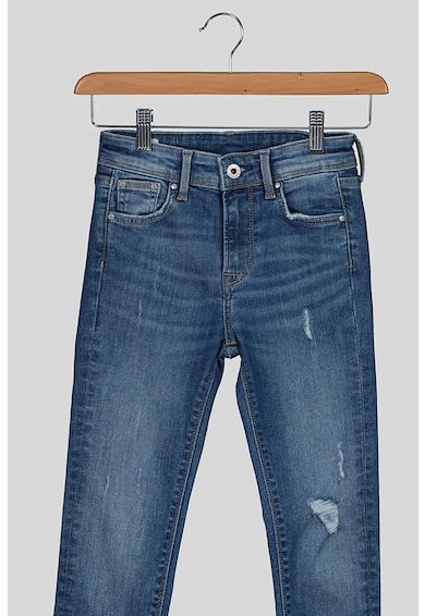 Pepe Jeans London Blugi cu detalii cu aspect deteriorat Fete