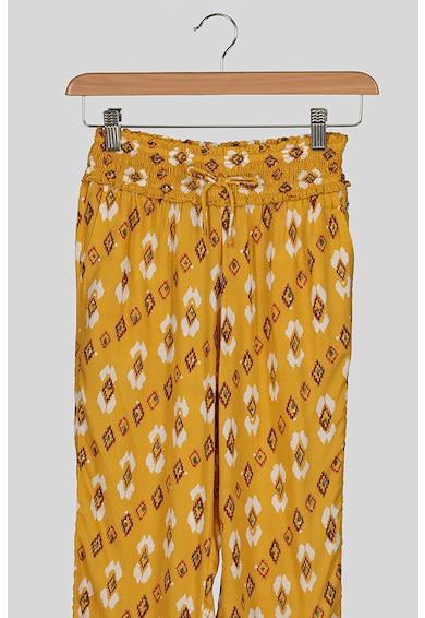Pepe Jeans London Mintás nadrág bő szárakkal Lány