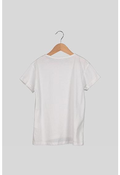 Pepe Jeans London Kerek nyakú póló strasszköves logóval Lány