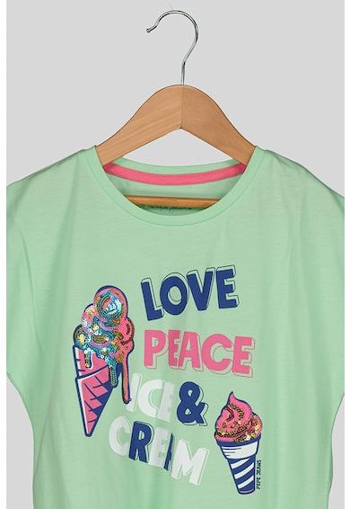 Pepe Jeans London Feliratos póló Lány