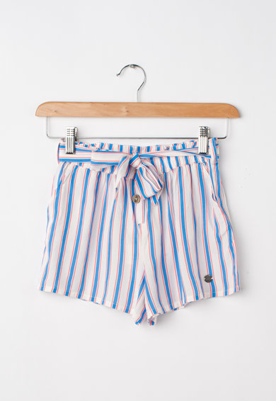 Pepe Jeans London Oli csíkos pamut rövidnadrág Lány
