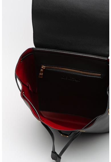 Love Moschino Műbőr hátizsák fémes logóval női