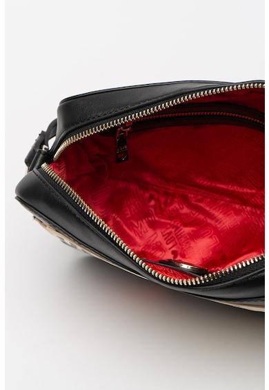 Love Moschino Keresztpántos műbőr táska logós részletekkel női