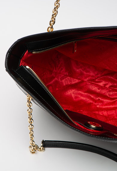 Love Moschino Steppelt hatású shopper fazonú műbőr táska női