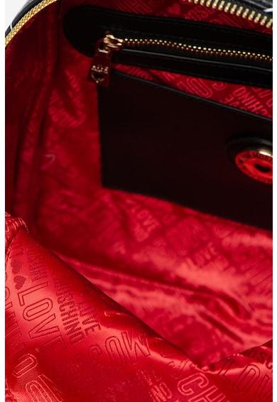 Love Moschino Rucsac din piele ecologica cu model chevron Femei