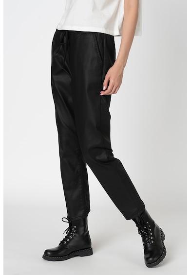 Pepe Jeans London Панталон Cara от еко кожа Жени
