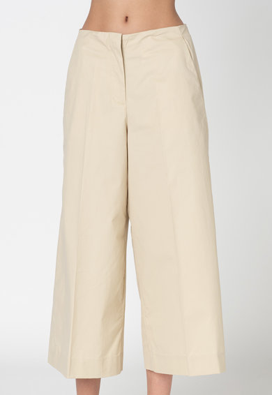 Pepe Jeans London Панталон Cossy над глезена с широк крачол Жени