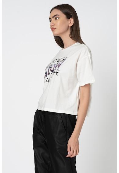Pepe Jeans London Тениска Adina с шампа и пайети Жени