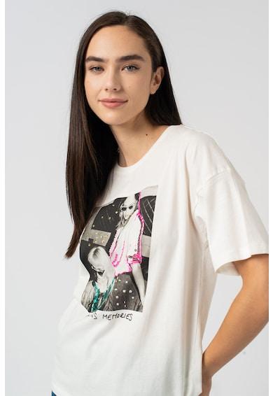 Pepe Jeans London Aria fotómintás póló női