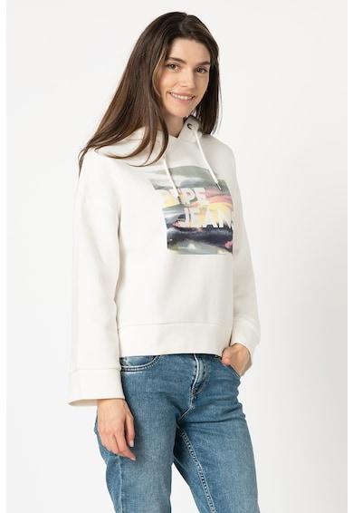 Pepe Jeans London Hanorac cu imprimeu logo Blossom Femei