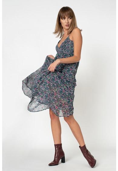 Pepe Jeans London Rochie maxi cu model floral Magali Femei