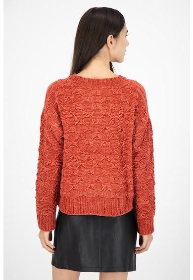 Pepe Jeans London Pulover lejer cu model tricotat texturat Lala Femei