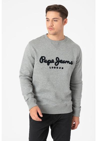 Pepe Jeans London Harold kerek nyakú pulóver logóval férfi