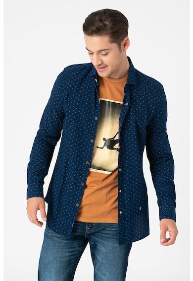Pepe Jeans London Tedworth szűk fazonú mintás ing férfi