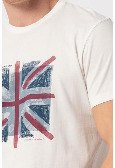 Pepe Jeans London Tricou cu imprimeu grafic Brad Barbati