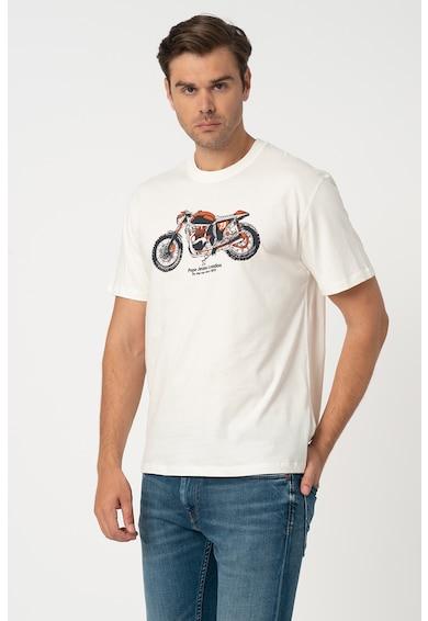 Pepe Jeans London Tricou cu model grafic Donald Barbati