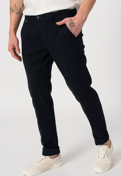 Pepe Jeans London Chino nadrág övbújtatókkal férfi