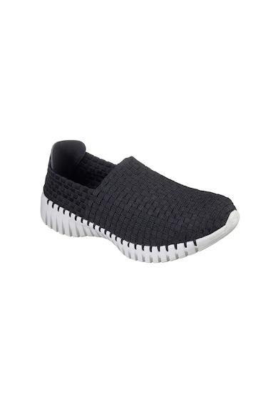 Skechers Pantofi slip-on cu aspect tesut GO WALK SMART-WHIZ Femei