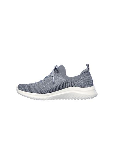 Skechers Pantofi sport slip-on de plasa, cu design tricotat Ultra Flex 2.0 Femei