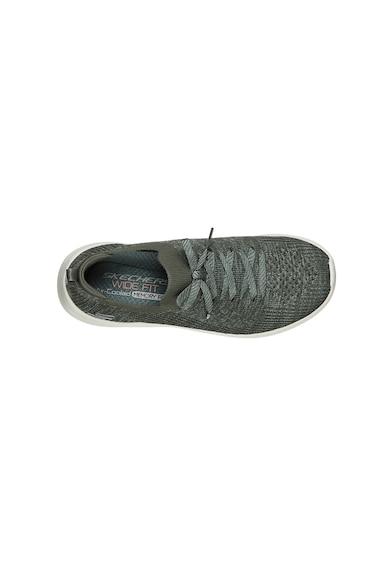 Skechers Pantofi sport slip-on de plasa tricotata Ultra Flex 2.0 Femei