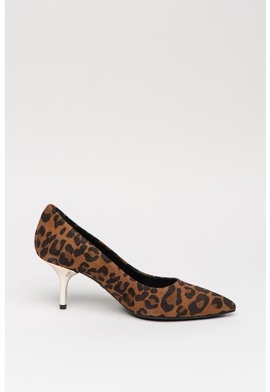 Liu Jo Pantofi de piele intoarsa cu animal print Hanna Femei