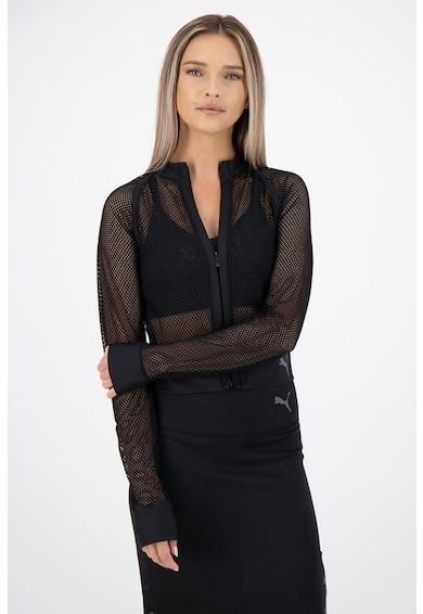 Puma Hálós anyagú cipzáros dzseki női