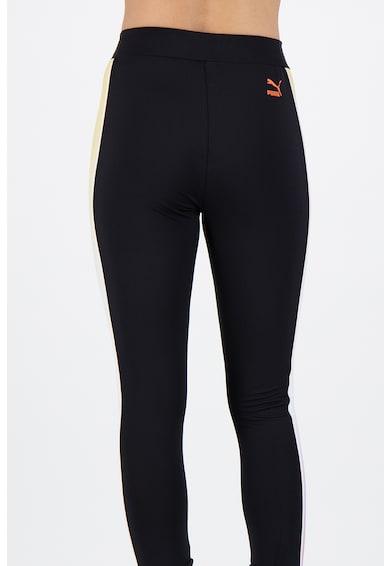 Puma Dancing leggings kontrasztos oldalcsíkokkal női
