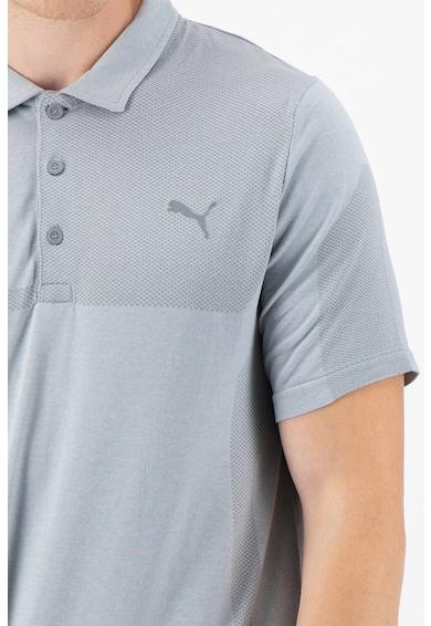 Puma evoKnit galléros golfpóló DryCell technológiával férfi