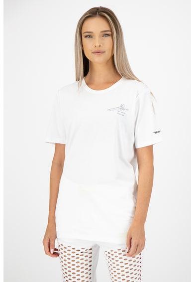Puma Kerek nyakú mintás póló női