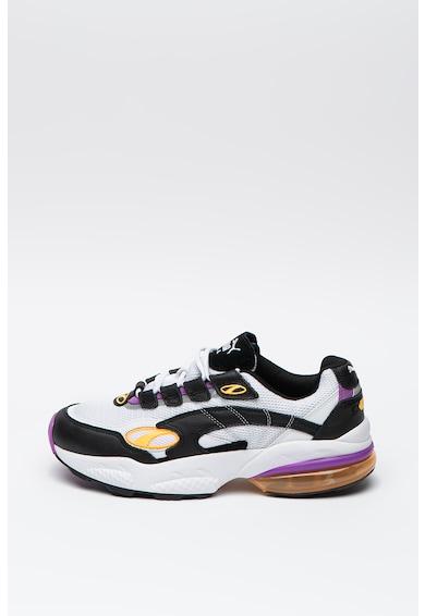 Puma Pantofi sport din plasa cu garnituri din piele Cell Venom Hype Barbati