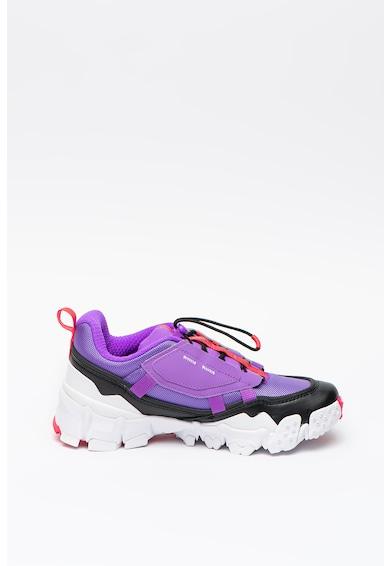 Puma Pantofi sport masivi cu design colorblock Trailfox Overland Femei