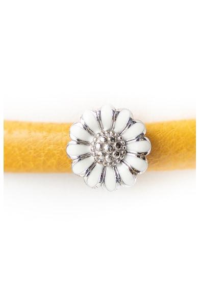 Christina Jewelry&Watches Christina Jewelry& Watches, Bratara de piele cu talisman de argint 925 Femei