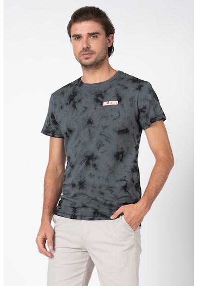 BLEND Tricou cu model tie-dye Barbati