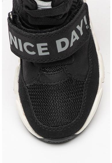 Gioseppo Pantofi sport inalti cu insertii din plasa Schelle Baieti