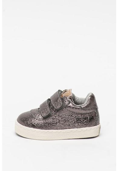Gioseppo Pantofi sport din piele ecologica, cu inchidere velcro Lohmar Fete