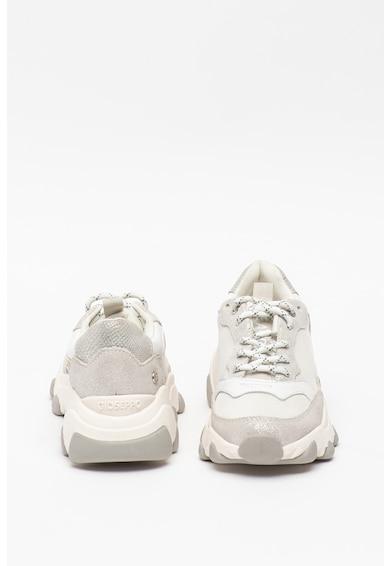 Gioseppo Pantofi sport din piele intoarsa cu insertii din plasa Bruselas Fete