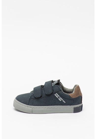 Gioseppo Pantofi sport din piele intoarsa ecologica, cu inchidere velcro Antoing Baieti