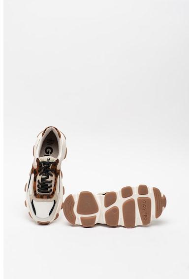 Gioseppo Pantofi sport din piele cu garnituri din piele intoarsa Springe Femei