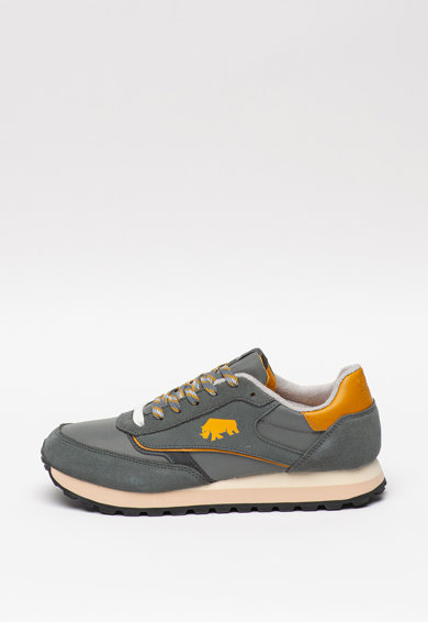 Gioseppo Pantofi sport de piele intoarsa cu garnituri de piele Kineshma Barbati