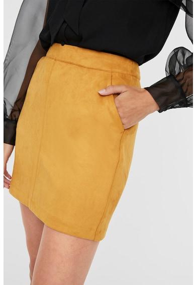 Vero Moda Fusta mini din piele intoarsa sintetica Femei