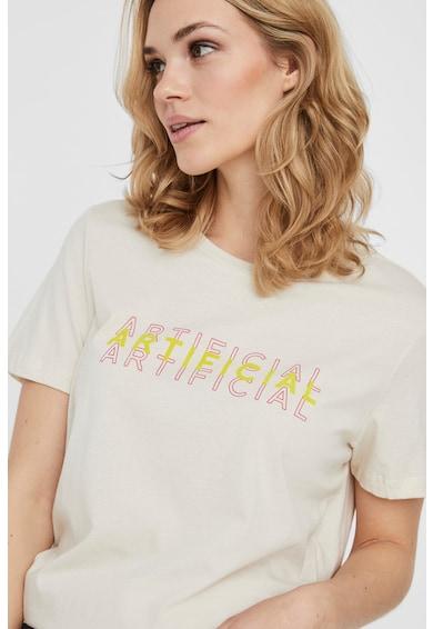 Vero Moda Tricou din bumbac organic cu imprimeu Femei