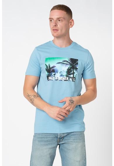 Jack&Jones Palm szűk fazonú kerek nyakú póló férfi