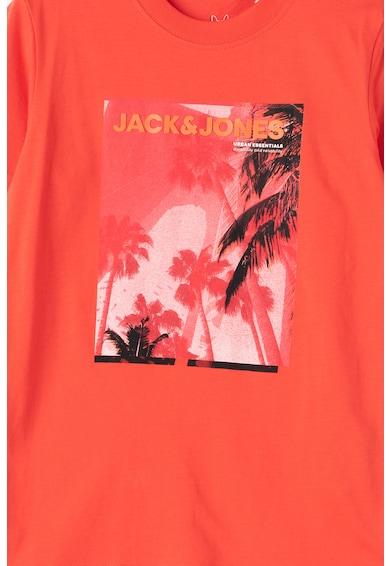Jack&Jones Trópusi mintás kerek nyakú póló Fiú