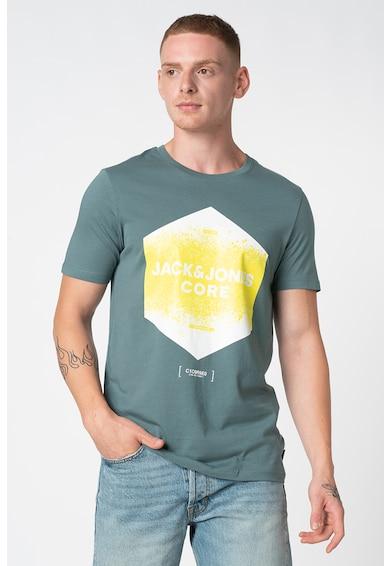 Jack&Jones Platter logómintás kerek nyakú póló férfi