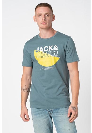Jack&Jones Cole szűk fazonú mintás pamutpóló férfi