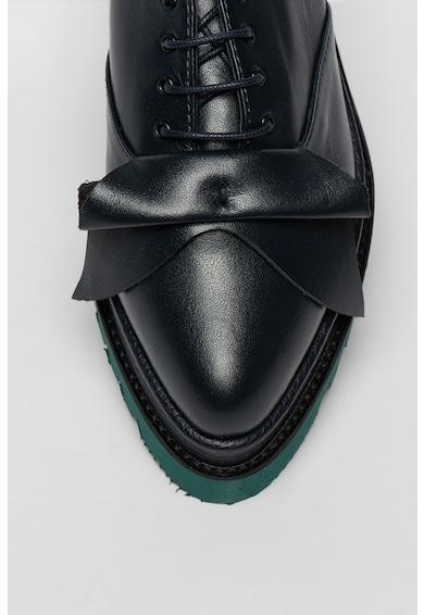 Mihaela Glavan Pantofi flatform din piele Femei